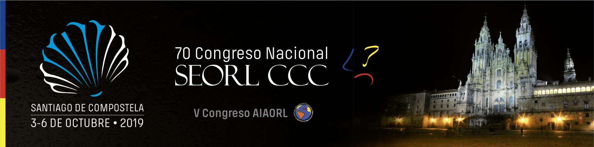 70 Congreso Nacional de la SEORL-CCC | V Congreso de la Academia Iberoamericana de ORL